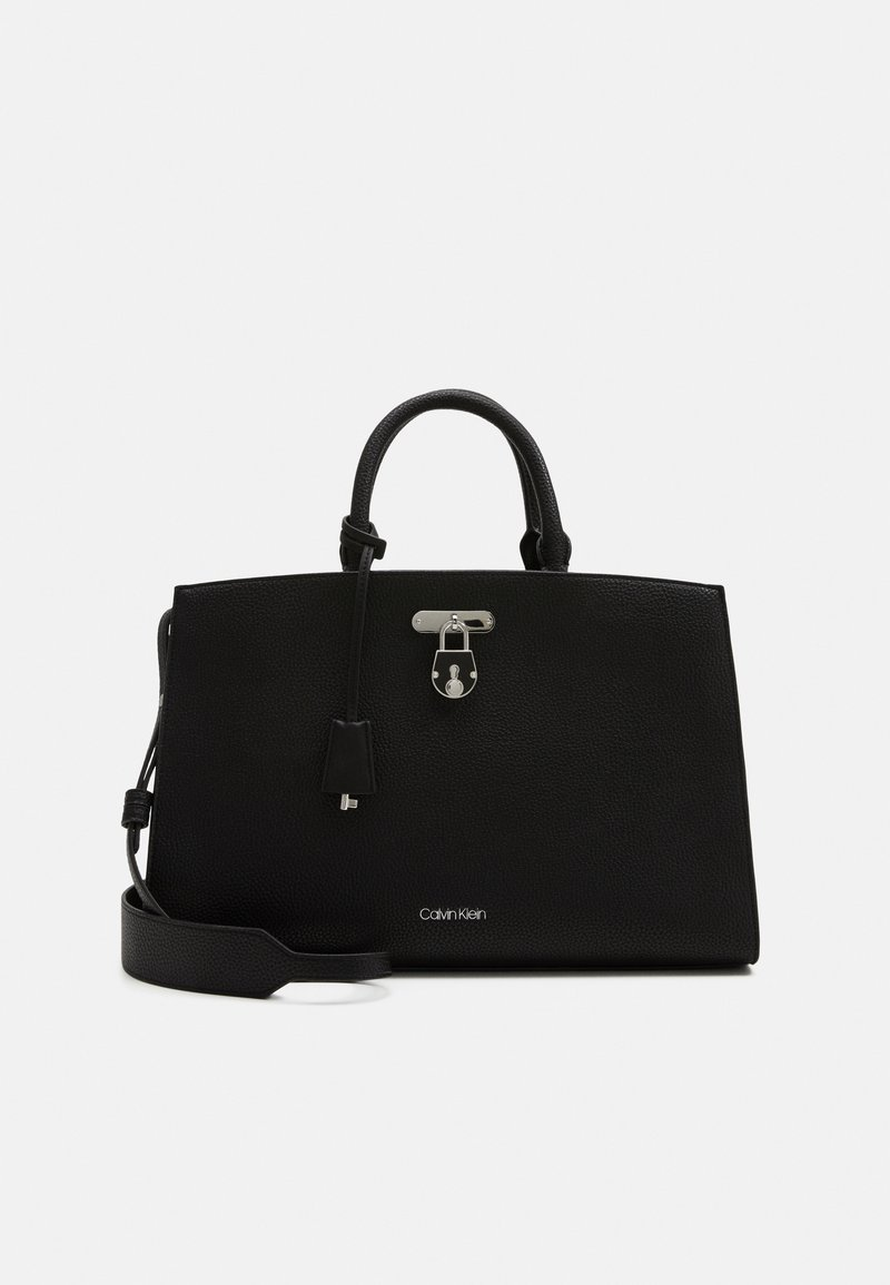 Calvin Klein - BUSINESS TOTE - Aktovka - black