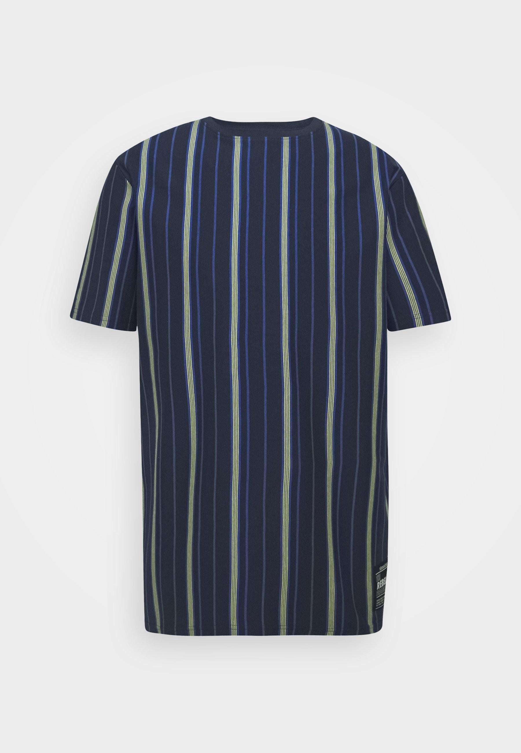 Redefined Rebel Tee - T-shirts Med Print Turkish Sea/blå