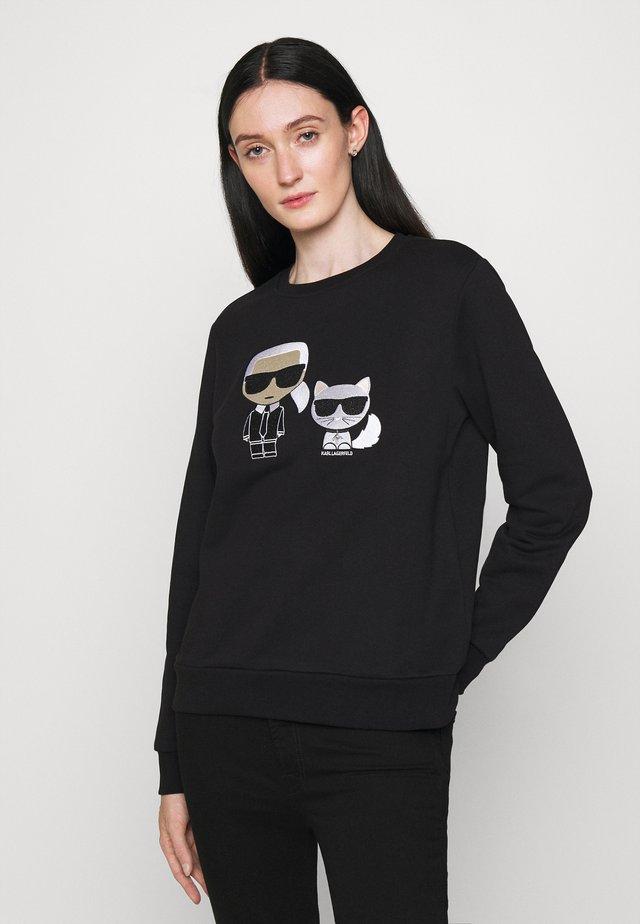 IKONIK KARL CHOUPETTE  - Sweatshirt - black