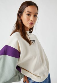 PULL&BEAR - Sweater - white - 3