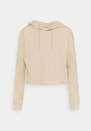 ONPLOUNGE SHORT HOOD - Long sleeved top - doeskin