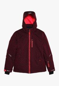 Killtec - VALJESSA  - Ski jacket - dunkel himbeere - 0