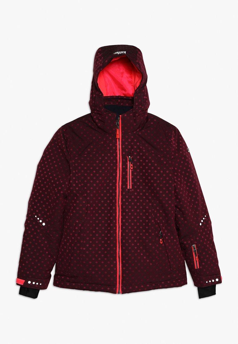 Killtec - VALJESSA  - Ski jacket - dunkel himbeere