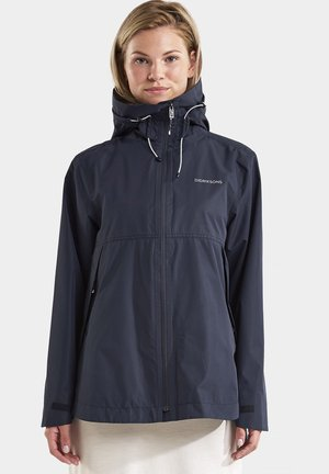 Outdoor jacket - dark night blue