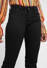 Lee - MARION STRAIGHT - Straight leg jeans - black rinse - 3