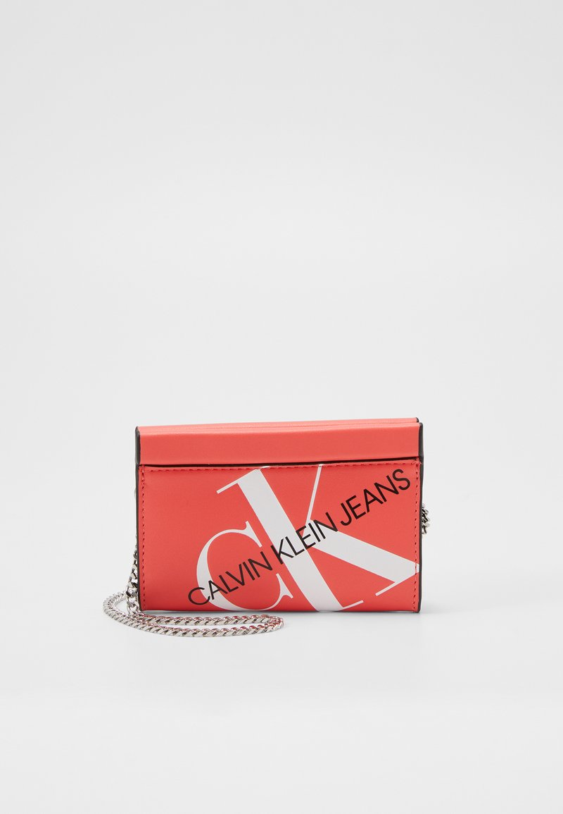 Calvin Klein Jeans - CHAIN CARDCASE - Wallet - orange