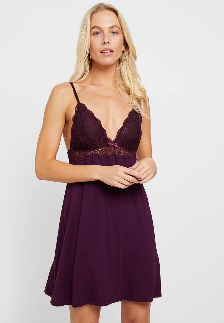 Anna Field - Nightie - dark purple