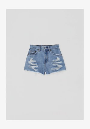 Jeans Short / cowboy shorts - dark blue