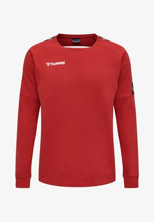 HMLAUTHENTIC - Sweatshirts - true red