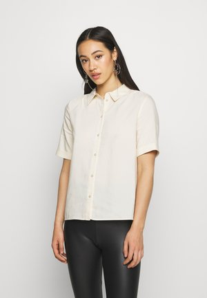 VMSANTORINI SS SHIRT VMA - Button-down blouse - birch