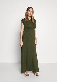 Slacks & Co. - AMELIA - Maxi dress - khaki - 0