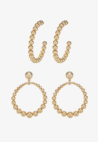 Missguided - BALL HOOP AND DROP 2 PACK - Earrings - gold-coloured - 3