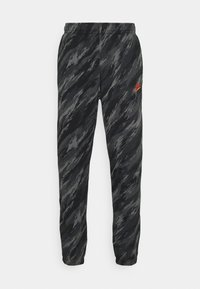 Nike Sportswear - PANT - Tracksuit bottoms - black/orange - 4