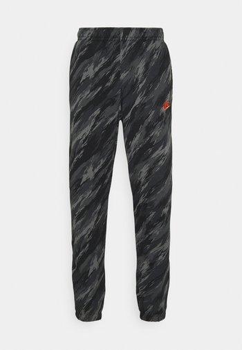 PANT - Pantaloni sportivi - black/orange