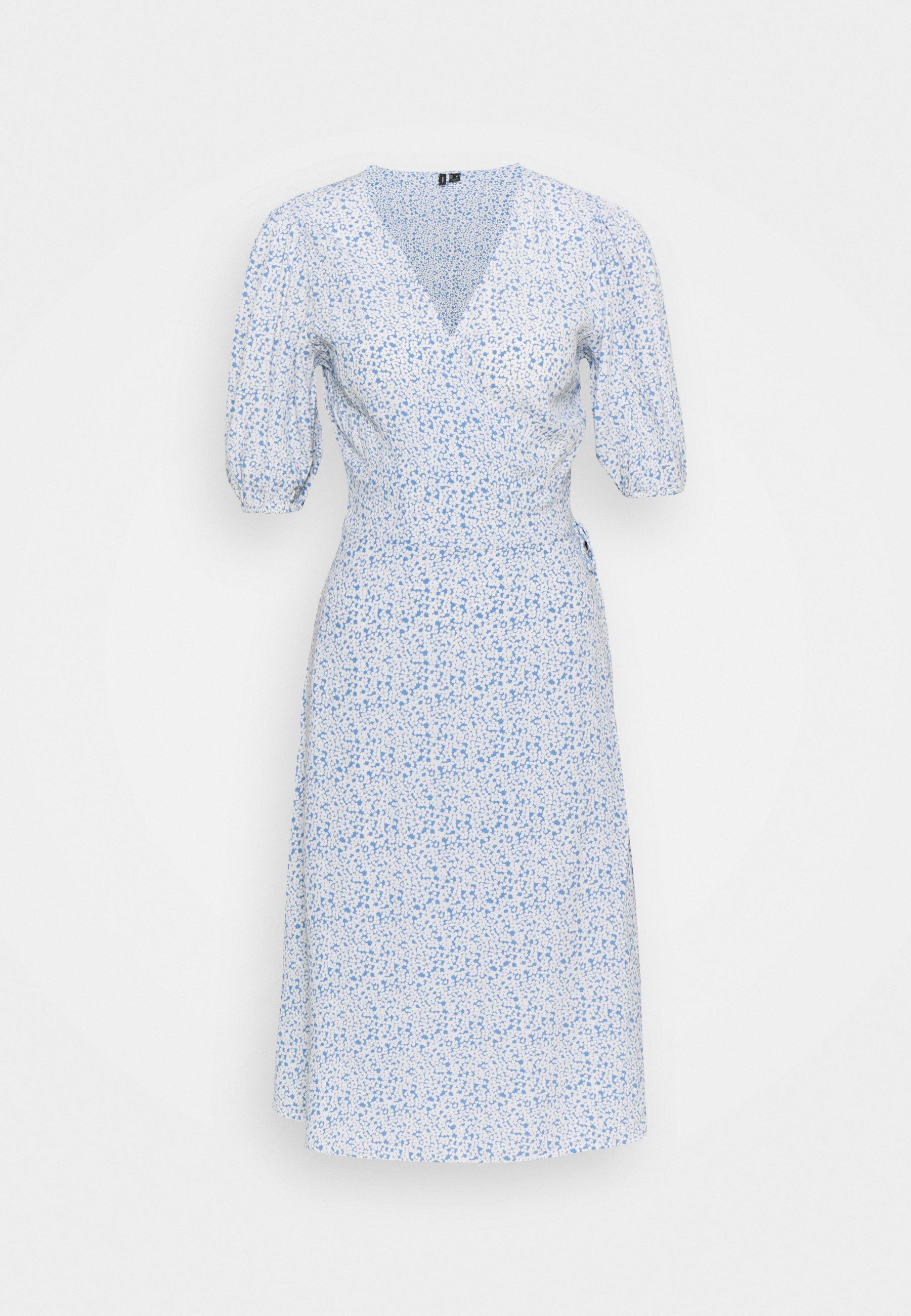 Women VMHENNA WRAP DRESS - Day dress