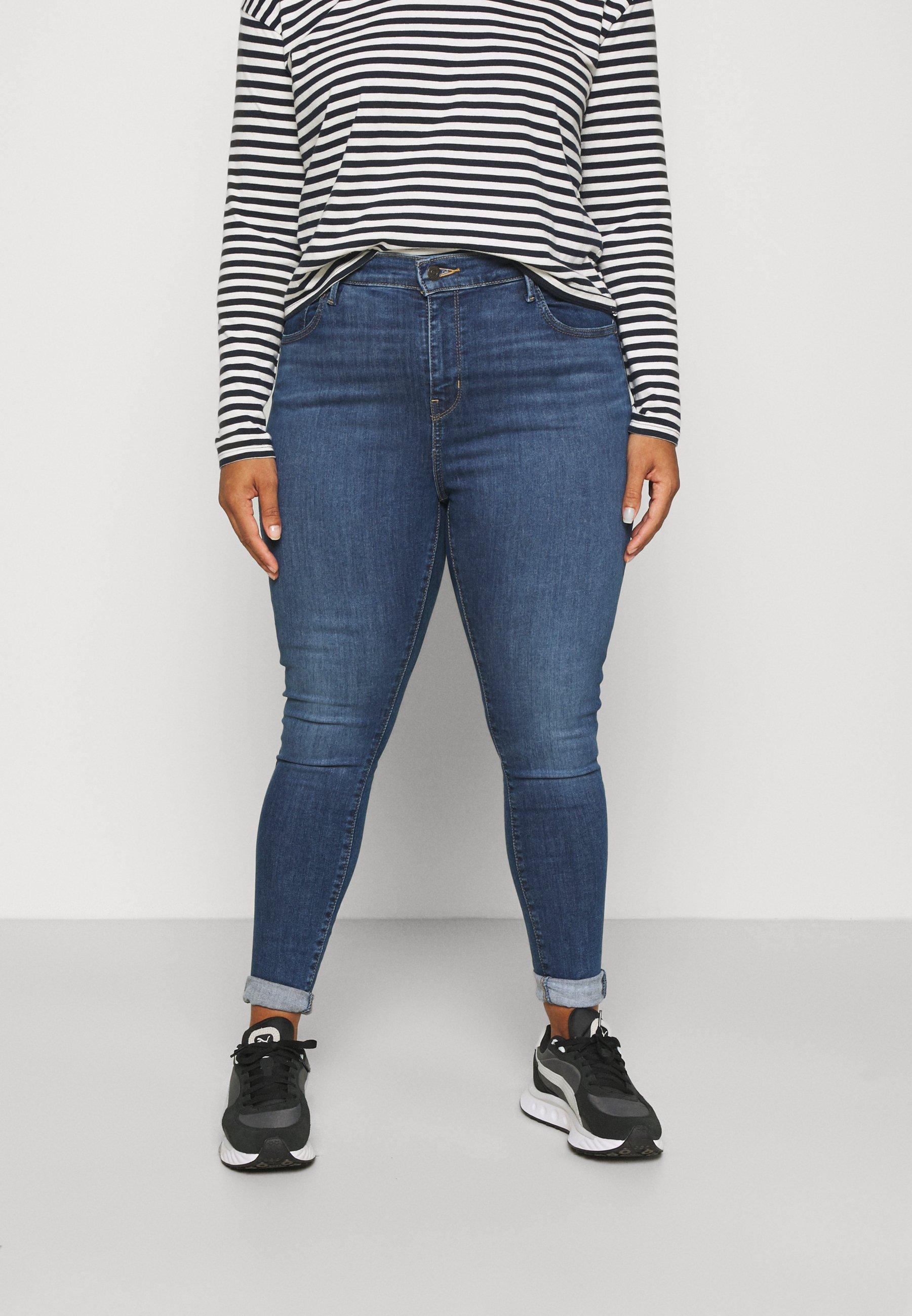 Damen 720 PL HIRISE SUPER SKNY - Jeans Skinny Fit