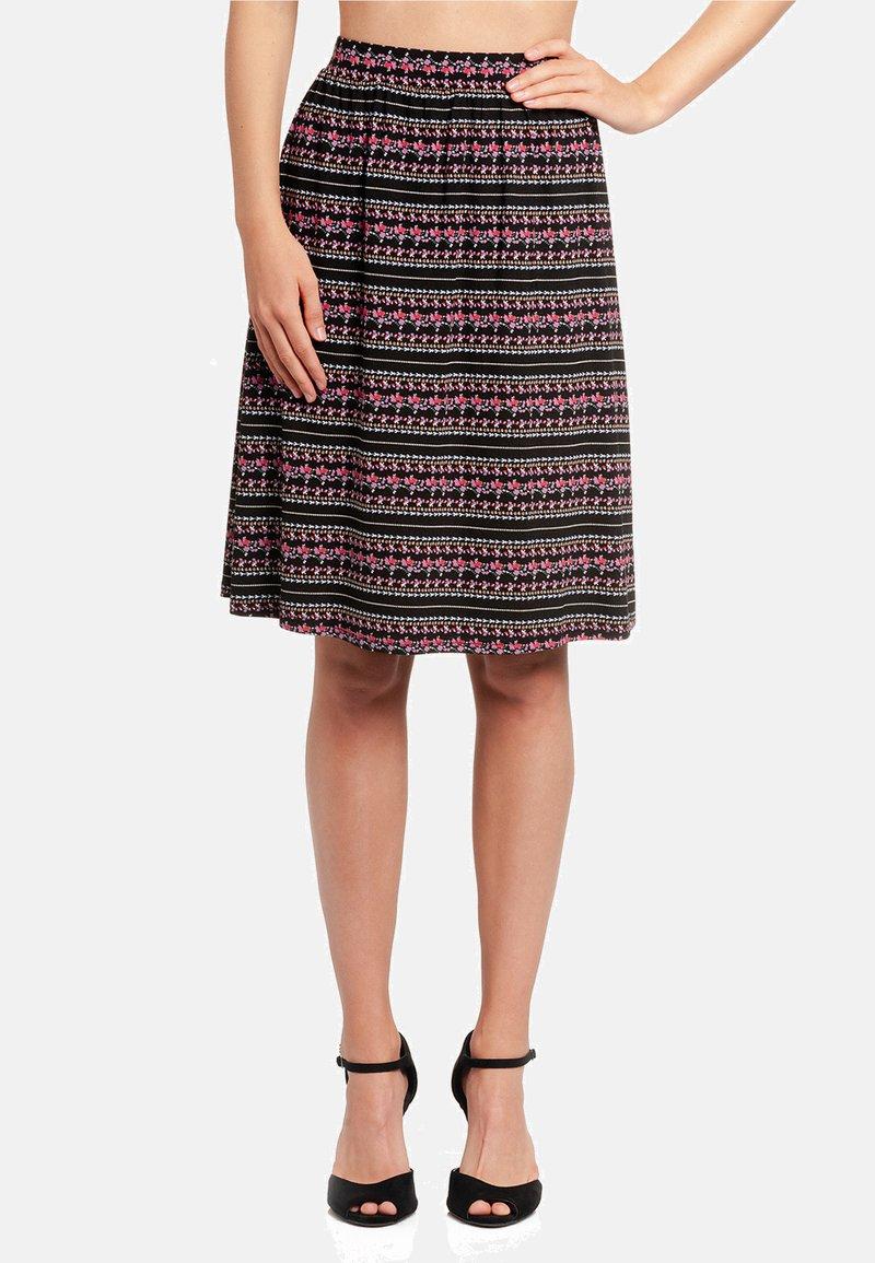 Vive Maria - A-line skirt - schwarz allover