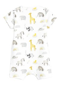 Next - 3 PACK GOTS ORGANIC COTTON ANIMAL ROMPERS - Jumpsuit - white - 2