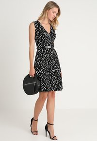 Anna Field - Day dress - black/off-white - 1