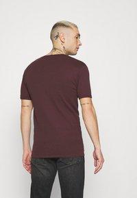 G-Star - BASE 2 PACK - Basic T-shirt - dark fig - 2
