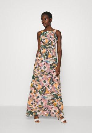DRESS LONG - Vestido largo - mauve/multicolor
