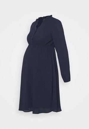 VMMAYA V-NECK DRESS - Kjole - navy blazer