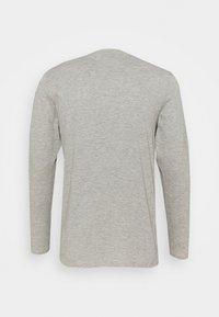 Umbro - SMALL LOGO TEE - Long sleeved top - grey marl - 1