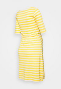 Anna Field MAMA - Jerseykjole - white/yellow - 1
