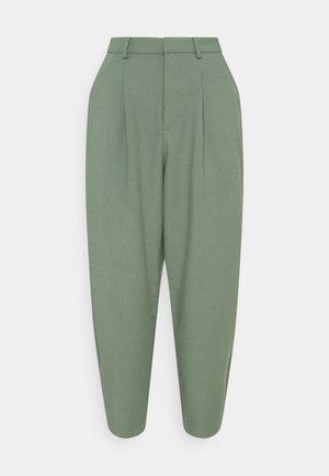 PANTS - Trousers - eukalyptus