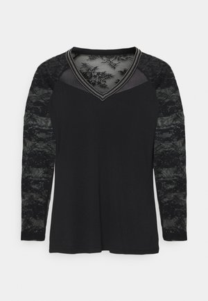 TERRIE - Long sleeved top - noir