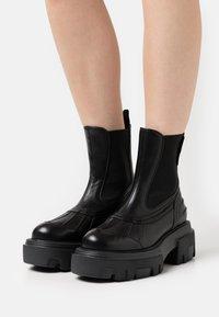 MSGM - BOOT - Platform ankle boots - black - 0