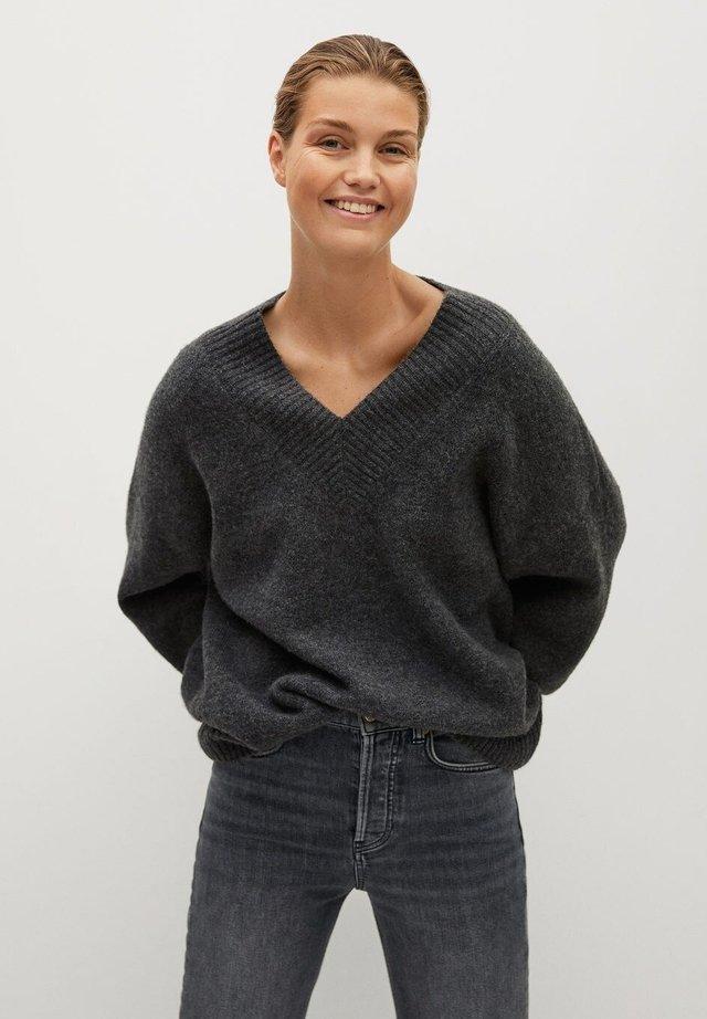 TALDORA - Pullover - gris chiné foncé