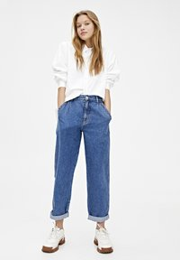 PULL&BEAR - Jeansy Relaxed Fit - blue - 1