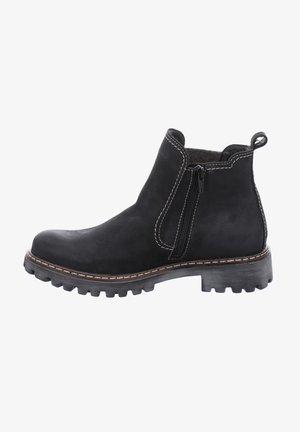 Classic ankle boots - schwarz-kombi