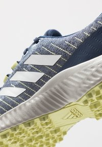 adidas Golf - RESPONSE BOUNCE 2 SL - Obuwie do golfa - tech indigo/footwear white/yellow tint - 5