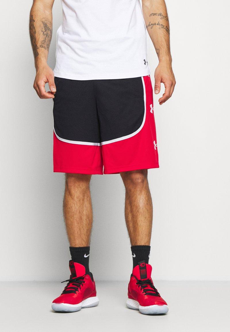 Under Armour - BASELINE RETRO - Sports shorts - black
