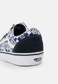 Vans - OLD SKOOL - Sneakers - dress blues/true blue - 6