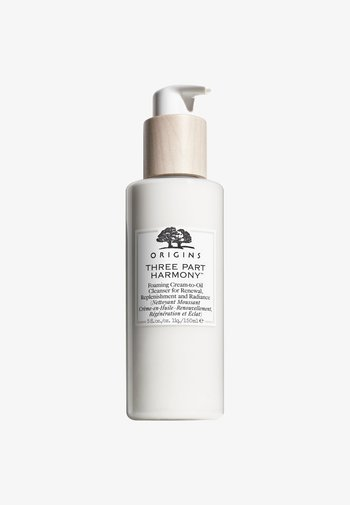 THREE PART HARMONY FOAMING CREAM-TO-OIL CLEANSER FOR RENEWAL, RENEWAL, REPLENISHMENT AND RADIANCE 150ML