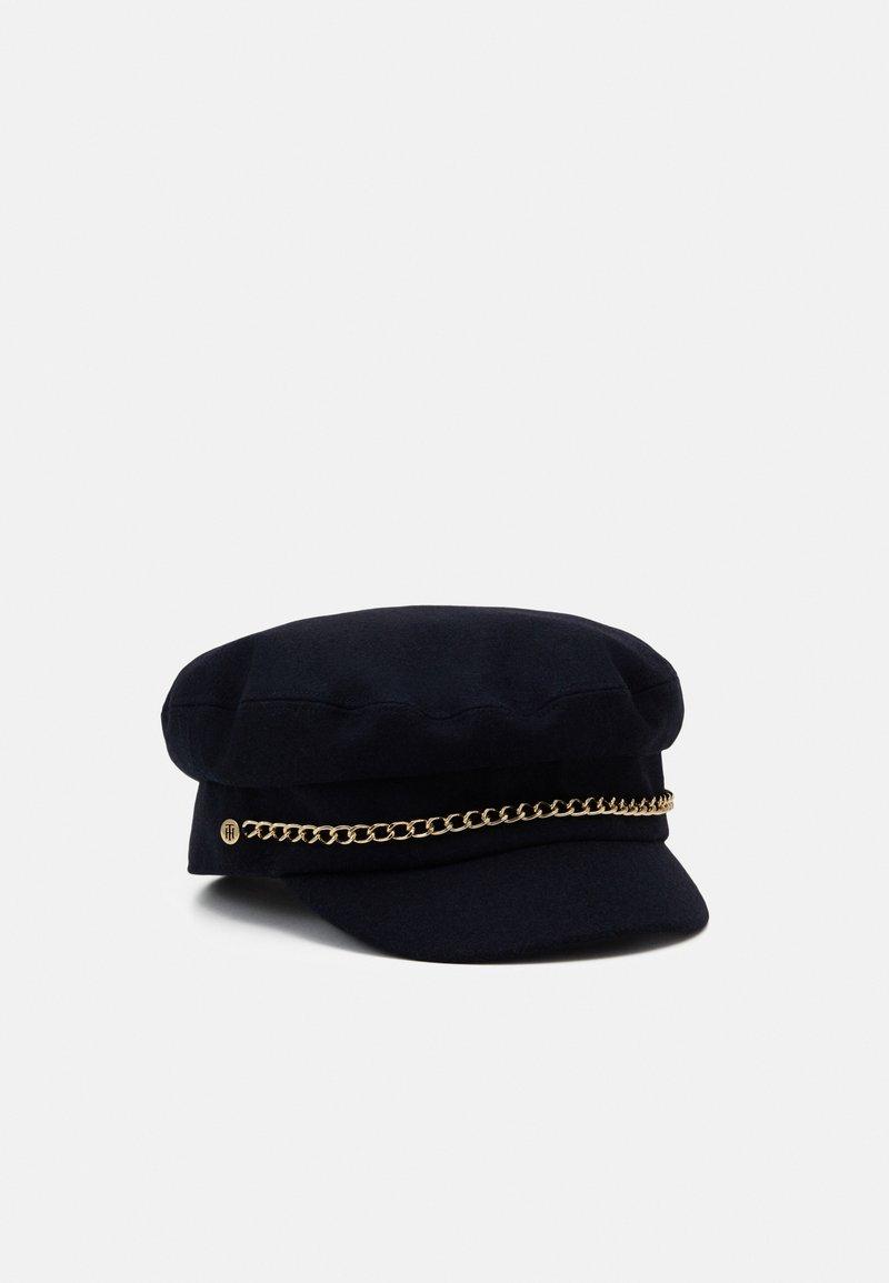 Tommy Hilfiger - BAKER BOY - Hat - blue