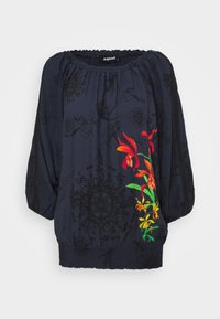 Desigual - Blouse - blue - 4