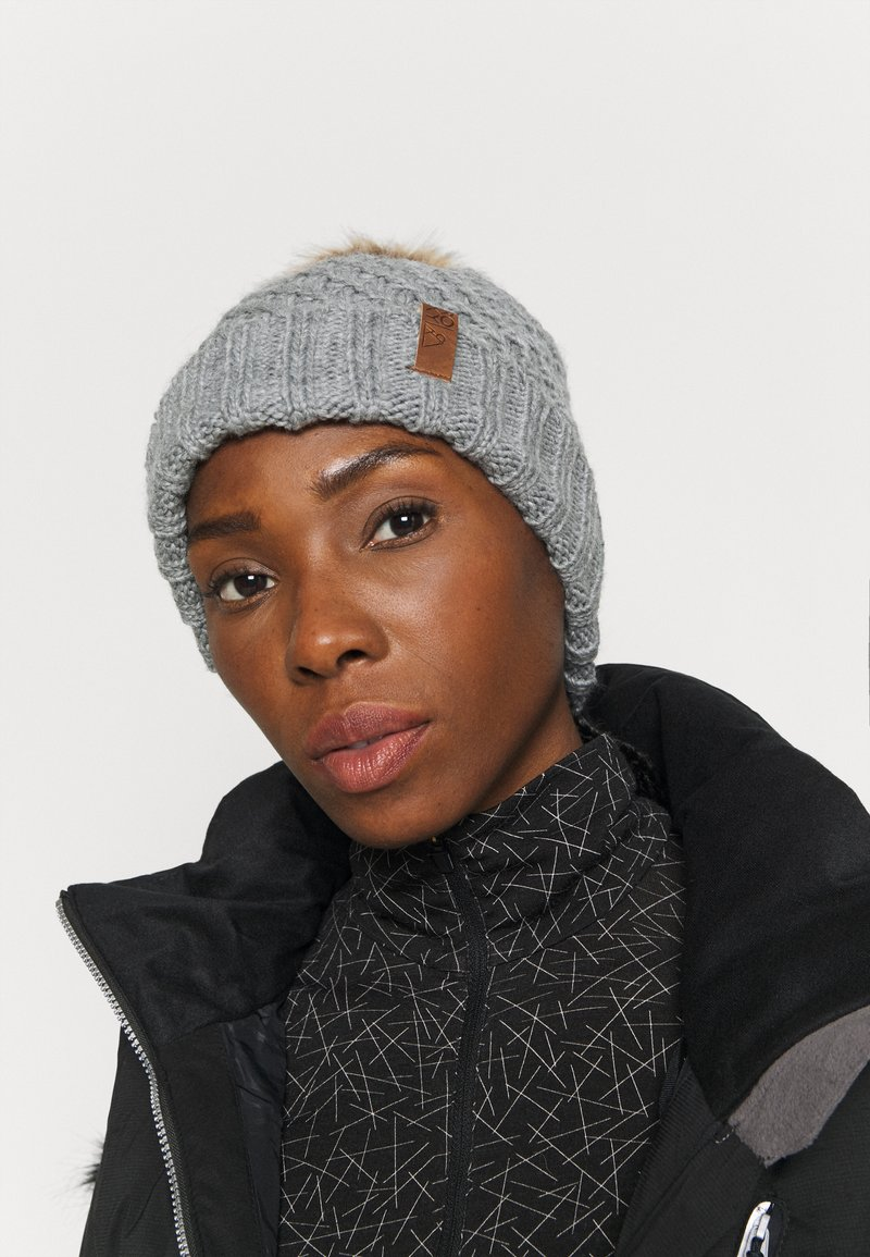 Roxy - BLIZZARD BEANIE - Beanie - heather grey