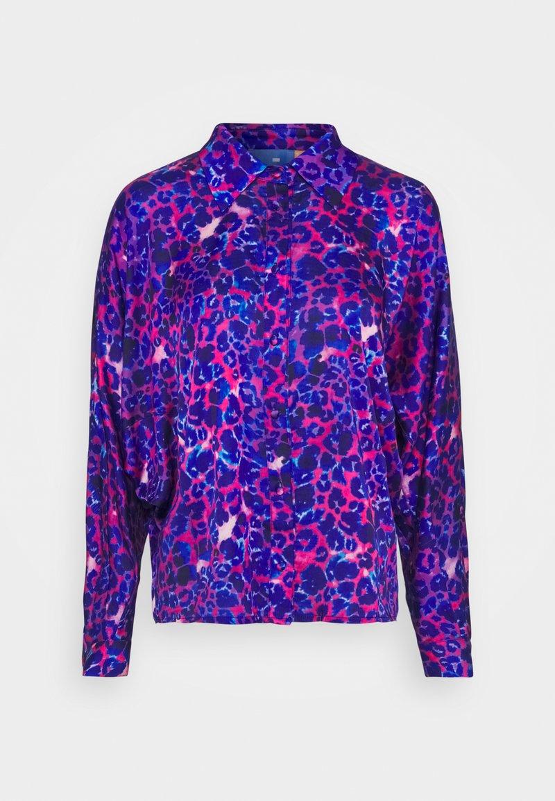 Cras - HARPERCRAS - Button-down blouse - malina