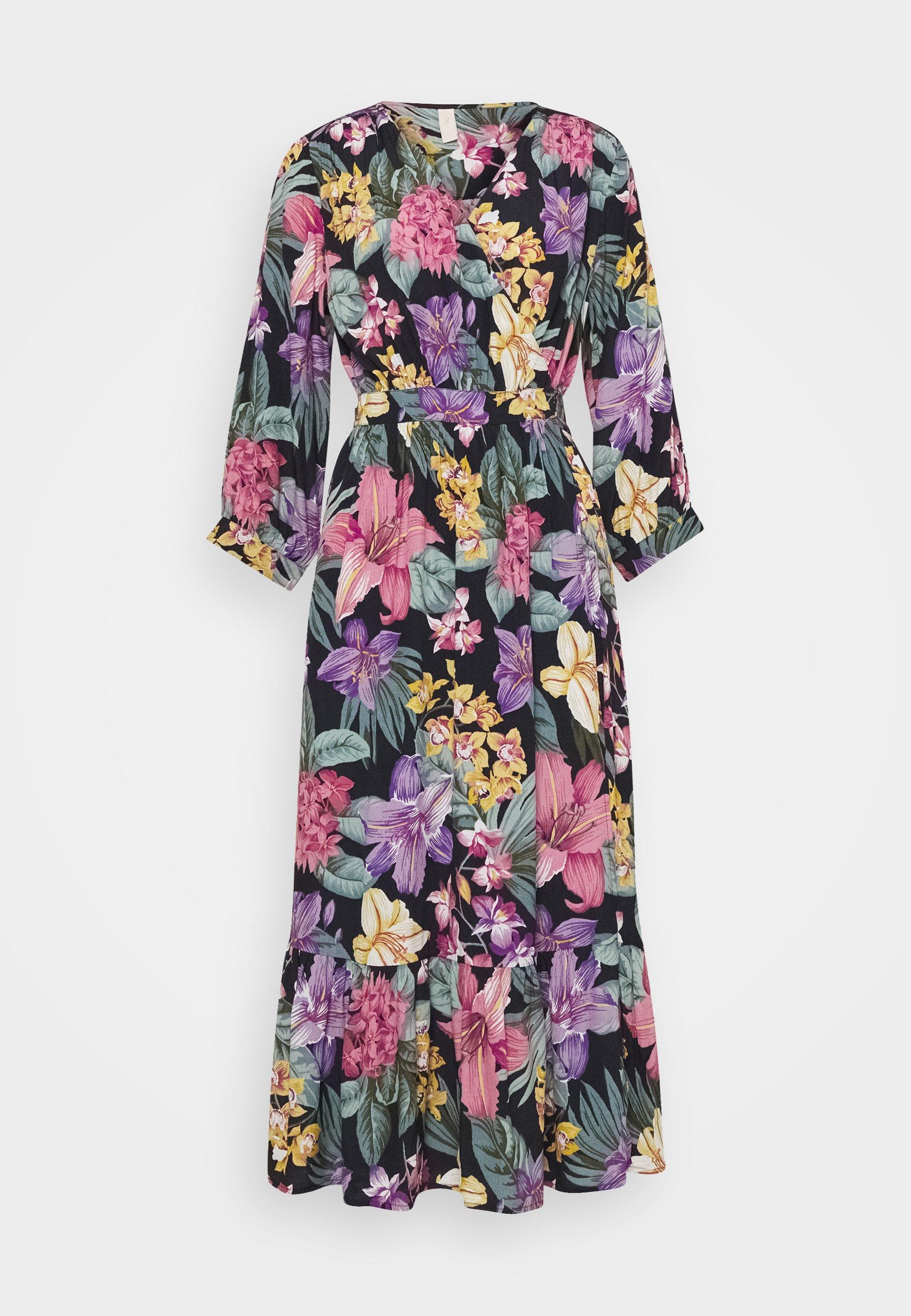 Women YASLIO MIDI WRAP DRESS SHOW - Day dress