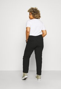 CAPSULE by Simply Be - PULL ON KAREN CREPE - Trousers - black - 2