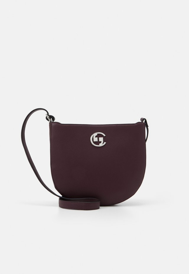 HOLD ON SHOULDERBAG - Sac bandoulière - burgundy