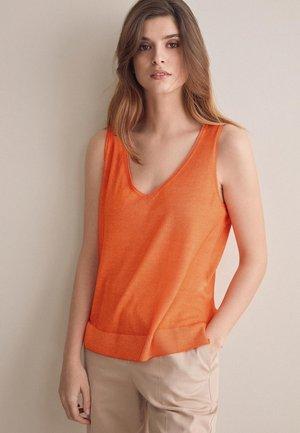 AUS CASHMERE - Top - orange - 8574 - arancio