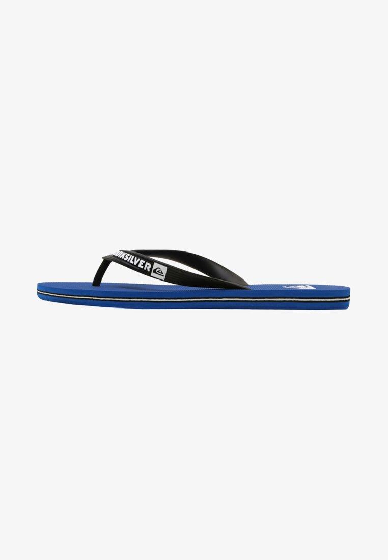 Quiksilver - MOLOKAI - Pool shoes - black/blue