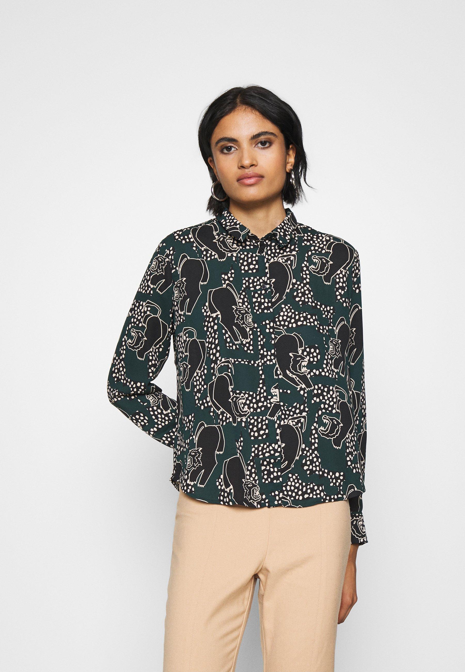 Women HELLE BLOUSE - Button-down blouse