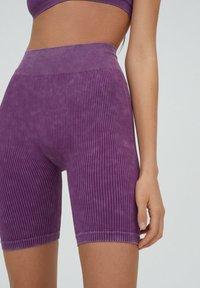 PULL&BEAR - Shorts - purple - 5