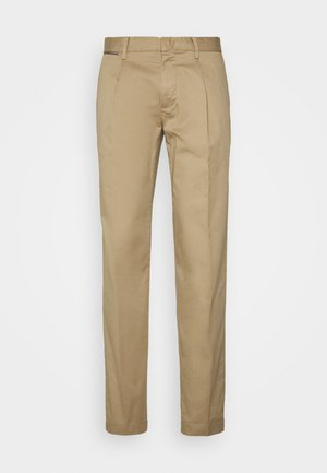 TAPERED SUMMER FLEX - Trousers - beige